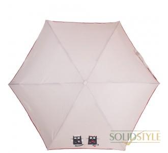 Зонт женский облегченный компактный механический  NEX (НЕКС) Z65511-4024