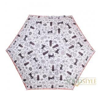 Зонт женский облегченный компактный механический  NEX (НЕКС) Z65511-4039