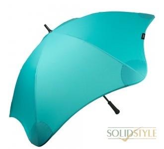 Противоштормовой зонт-трость женский механический  с большим куполом BLUNT (БЛАНТ) Bl-classic-mint-green