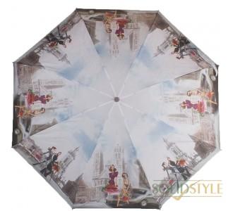 Зонт женский компактный автомат ZEST (ЗЕСТ) Z24755-05