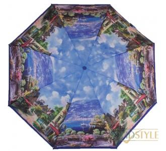 Зонт женский компактный автомат ZEST (ЗЕСТ) Z24755-03