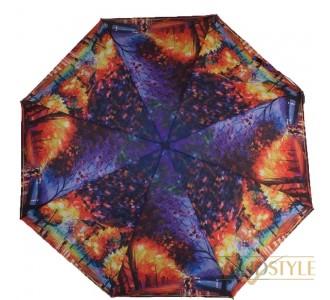 Зонт женский компактный автомат ZEST (ЗЕСТ) Z24755-09