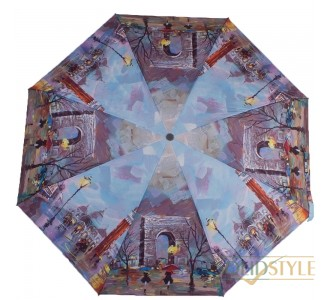 Зонт женский компактный автомат ZEST (ЗЕСТ) Z24755-2377