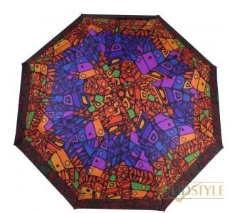 Зонт женский компактный механический AIRTON  (АЭРТОН) Z3515-3313