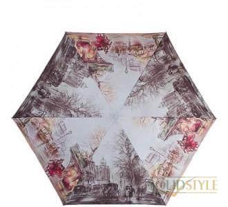 Зонт женский облегченный компактный механический  ZEST (ЗЕСТ) Z253625-16