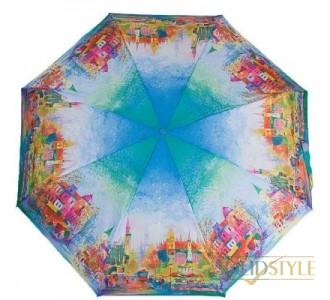 Зонт женский компактный механический ZEST  (ЗЕСТ) Z25525-9001