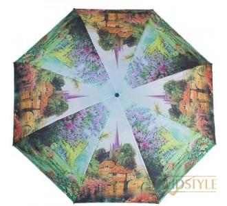 Зонт женский компактный механический ZEST  (ЗЕСТ) Z25525-9107
