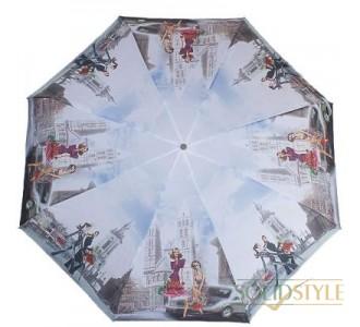 Зонт женский компактный механический ZEST  (ЗЕСТ) Z25525-9105