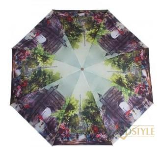Зонт женский компактный механический ZEST  (ЗЕСТ) Z25525-3161