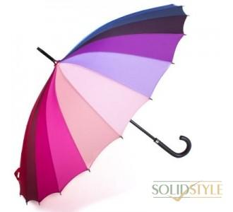 Зонт-трость женский механический GUY de JEAN  (Ги де ЖАН) FRH-2