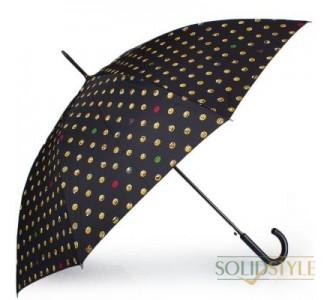 Зонт-трость женский полуавтомат HAPPY RAIN  (ХЕППИ РЭЙН) U41086-1