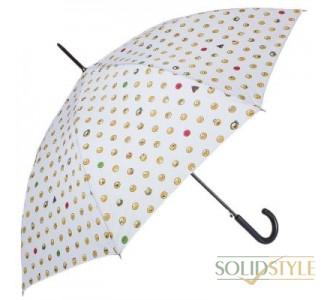 Зонт-трость женский полуавтомат HAPPY RAIN  (ХЕППИ РЭЙН) U41086-2