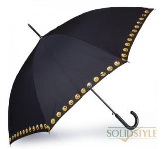 Зонт-трость женский полуавтомат HAPPY RAIN  (ХЕППИ РЭЙН) U41086-3