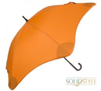 Противоштормовой зонт-трость женский механический  BLUNT (БЛАНТ) Bl-lite-3-orange