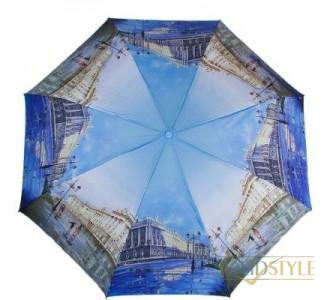 Зонт женский компактный полуавтомат ZEST  (ЗЕСТ) Z24665-1090