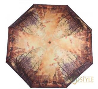 Зонт женский компактный полуавтомат ZEST  (ЗЕСТ) Z24665-4075