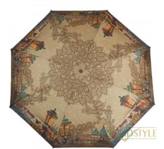 Зонт женский компактный полуавтомат ZEST  (ЗЕСТ) Z24665-4062