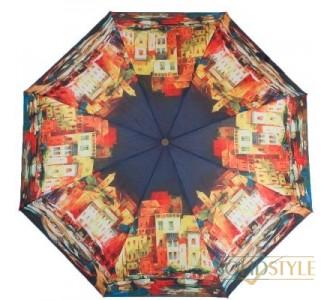 Зонт женский компактный полуавтомат ZEST  (ЗЕСТ) Z24665-4007