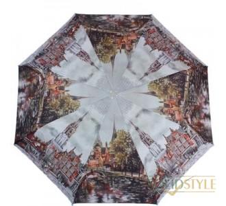Зонт женский полуавтомат ZEST (ЗЕСТ) Z23625-5038