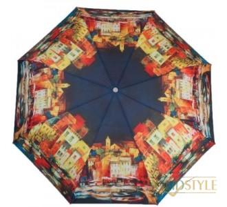 Зонт женский полуавтомат ZEST (ЗЕСТ) Z23625-4007