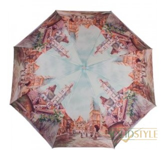 Зонт женский полуавтомат ZEST (ЗЕСТ) Z23625-3934