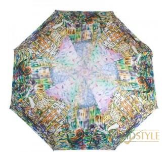 Зонт женский полуавтомат ZEST (ЗЕСТ) Z23625-5039