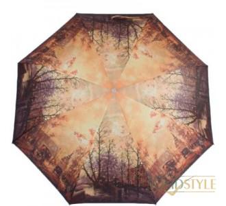 Зонт женский полуавтомат ZEST (ЗЕСТ) Z23625-4075