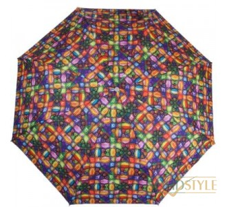 Зонт женский полуавтомат ZEST (ЗЕСТ) Z23625-4071