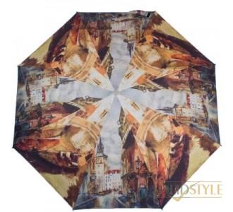 Зонт женский полуавтомат ZEST (ЗЕСТ) Z23625-4054