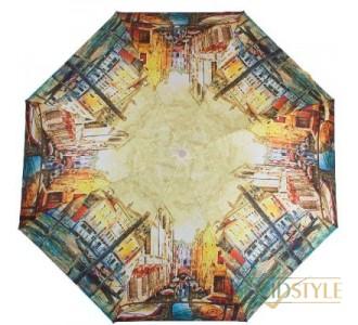 Зонт женский полуавтомат ZEST (ЗЕСТ) Z23625-5026