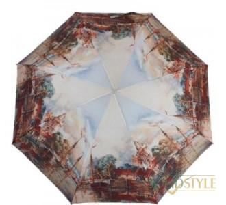 Зонт женский полуавтомат ZEST (ЗЕСТ) Z23625-4001
