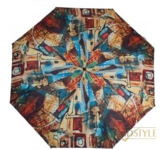 Зонт женский компактный автомат ZEST (ЗЕСТ) Z24755-4068