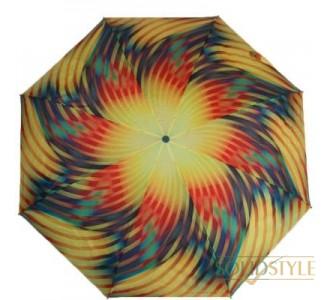 Зонт женский компактный автомат ZEST (ЗЕСТ) Z24755-1018