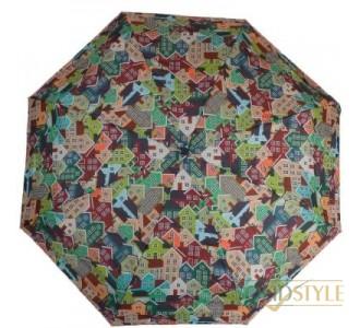 Зонт женский компактный автомат ZEST (ЗЕСТ) Z24755-4072
