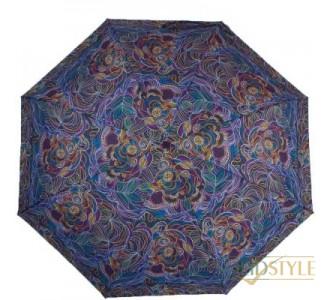 Зонт женский компактный автомат ZEST (ЗЕСТ) Z24755-4086