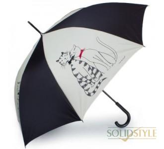 Зонт-трость женский полуавтомат GUY de JEAN  (Ги де ЖАН) FRH13-13