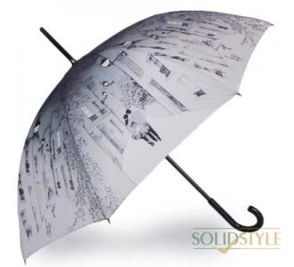 Зонт-трость женский механический GUY de JEAN  (Ги де ЖАН) FRH13-2E17
