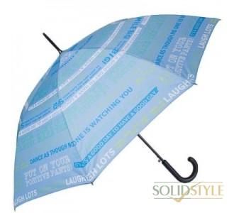 Зонт-трость женский полуавтомат HAPPY RAIN  (ХЕППИ РЭЙН) U41089-2