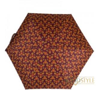 Зонт женский облегченный компактный механический  ZEST (ЗЕСТ) Z25518-3654