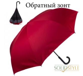 Зонт-трость полуавтомат обратного сложения  женский DOPPLER (ДОППЛЕР) DOP73976510