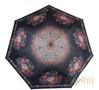 Зонт женский компактный облегченный автомат  ТРИ СЛОНА RE-E-070D-3