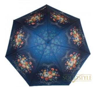 Зонт женский компактный облегченный автомат  ТРИ СЛОНА RE-E-070D-4