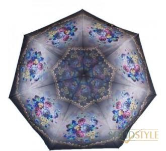 Зонт женский компактный облегченный автомат  ТРИ СЛОНА RE-E-070D-6