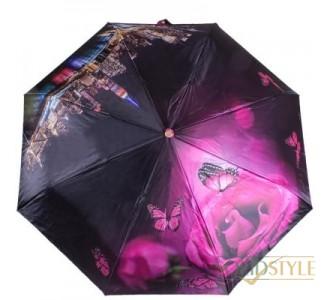 Зонт женский автомат ТРИ СЛОНА RE-E-145L-EL-9