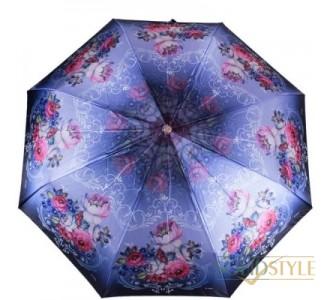 Зонт женский автомат ТРИ СЛОНА RE-E-139G-1