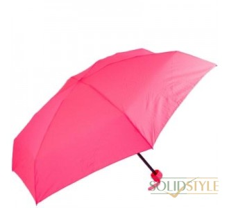 Зонт женский механический компактный облегченный  FULTON (ФУЛТОН) FULL793-Neon-Pink