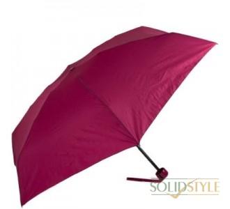 Зонт женский механический компактный облегченный  FULTON (ФУЛТОН) FULL793-Wine
