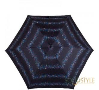Зонт женский механический компактный облегченный  FULTON (ФУЛТОН) FULL501-Star-Stripe