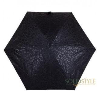 Зонт женский механический компактный облегченный  FULTON(ФУЛТОН) FULL501-Luxury-Leopard