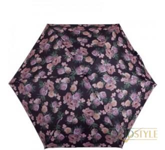 Зонт женский механический компактный облегченный  FULTON (ФУЛТОН) FULL501-Rococo-Rose